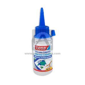 Silicona liquido Adhesico Multiproposito Tesa Pequeña 60 mL 1 unidad