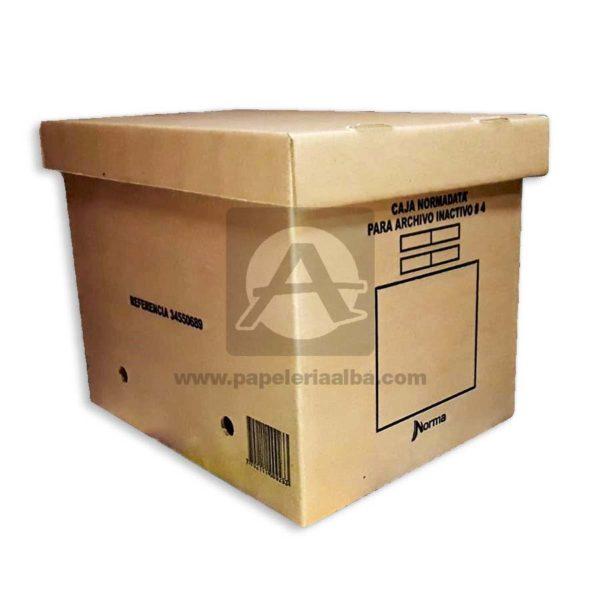 caja de archivo #4 Ref-500923 Norma 1 unidad