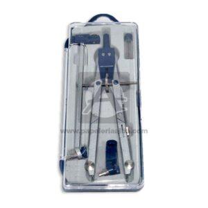compas de precisión con extensión Geoz Metálico Caja Mediano