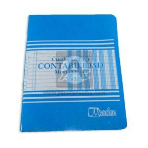 libro-de-contabilidad-50-3-Económico-Marden-1-2-Oficio-Azul-1-unidad-000943