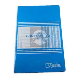 libro-de-contabilidad-50-3-Económico-Marden-Azul-Oficio