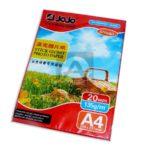Papel fotográfico  Adhesivo Marca Jojo  135 gramos 20 unidades Carta