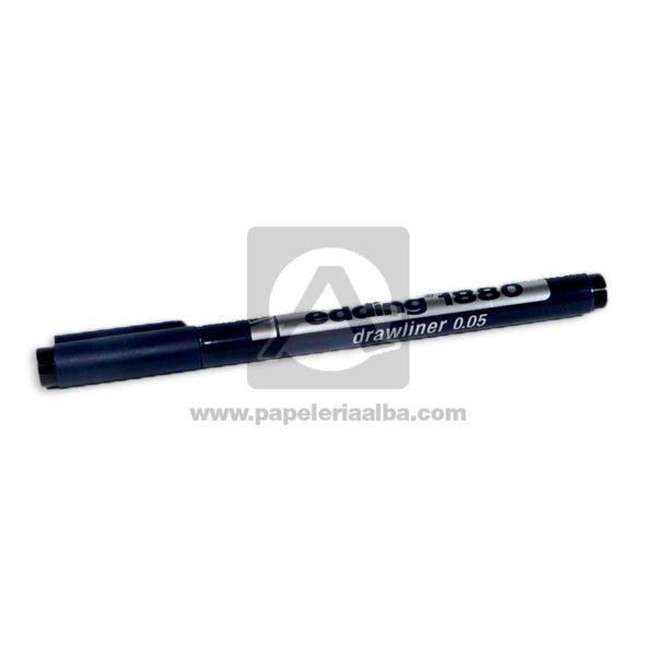 rapidografo drawliner 0.05 Ref-1880 Edding 1 unidad Negro