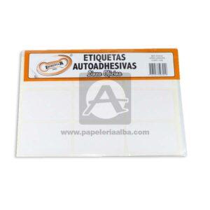 rotulo Autoadhesivo Linea Oficina 108 Rotulos Imprentar 53x34mm blanco