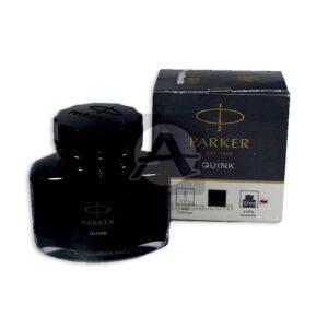 tinta Quink Original Parker 57mL Negro Mediana