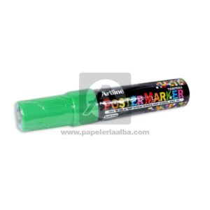 marcador Tempera PosterMarker Artline 6mm verde 1 unidad