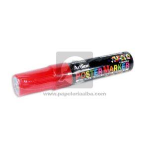marcador de Vinilo PosterMarker Artline 6mm Rojo 1 unidad