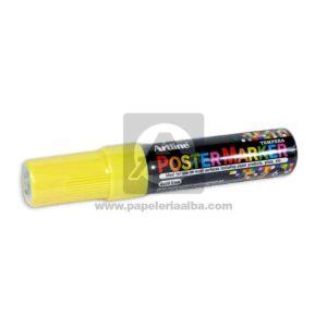 marcador de Vinilo PosterMarker EPP-6 Artline 6mm amarillo