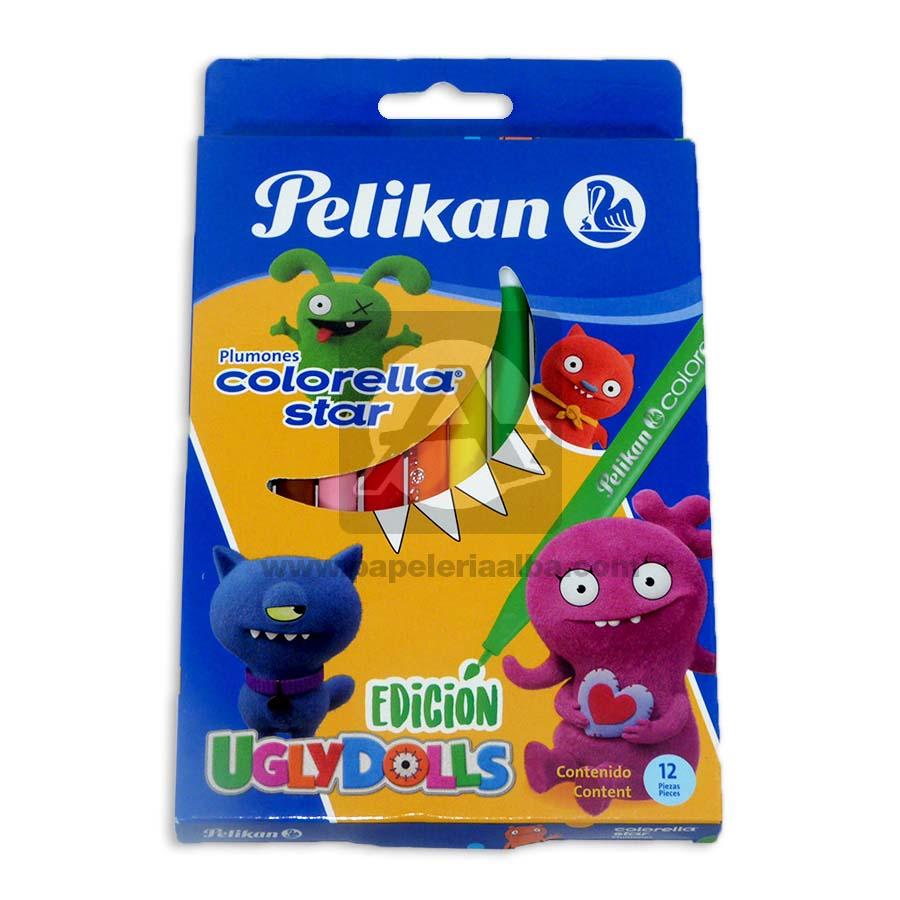 plumon  Colorella Star Pelikan 12 unidades Surtido Punta fina