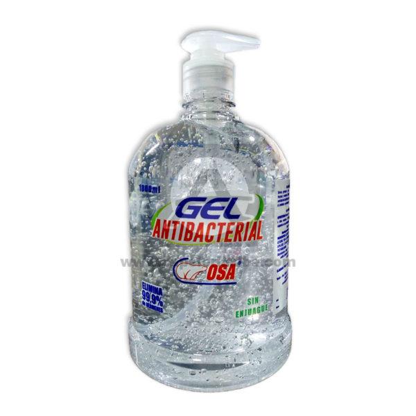 Gel Antibacterial Sin enjuague Osa 1Litro 1 unidad