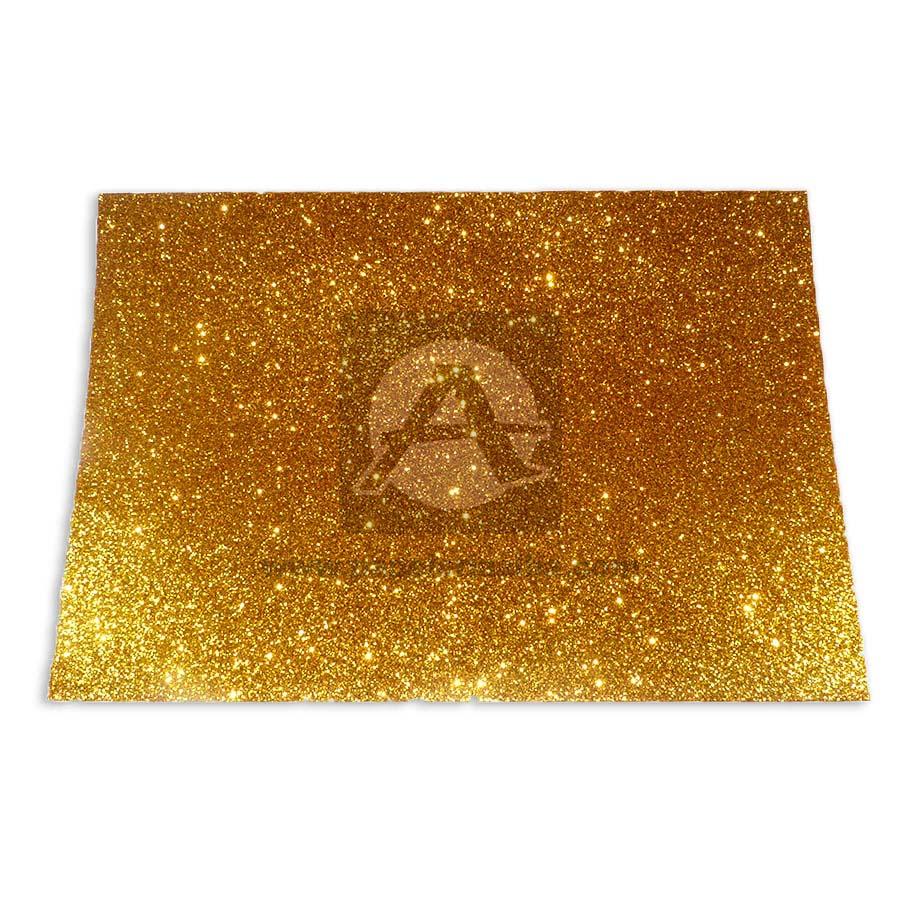 Espuma de Manualidades   Foamy Goma Formas y colores Dorado Escarchado Octavo