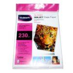 Papel fotográfico  de gran calidad Studmark 230 gramos 20 unidades