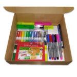 kit   de Materiales para Lettering Básico faber castell Caja