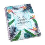 cuaderno argollado  Xpresarte Somewhere Norma cuadriculado Pasta dura 80 hojas femenino