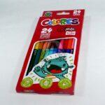 color  Escolares Económicos Scribe 24 unidades Doble Punta