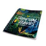 cuaderno argollado  Económico Imágenes  Norma Pequeño cuadriculado femenino 80 hojas