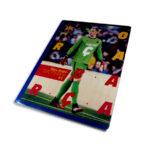 cuaderno cosido  Barcelona Scribe cuadriculado 100 hojas masculino Grande