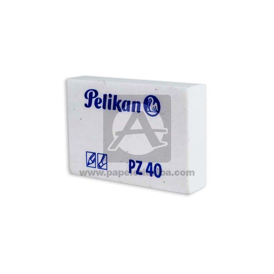 borrador  de Nata PZ 40 Pelikan blanco 1 unidad