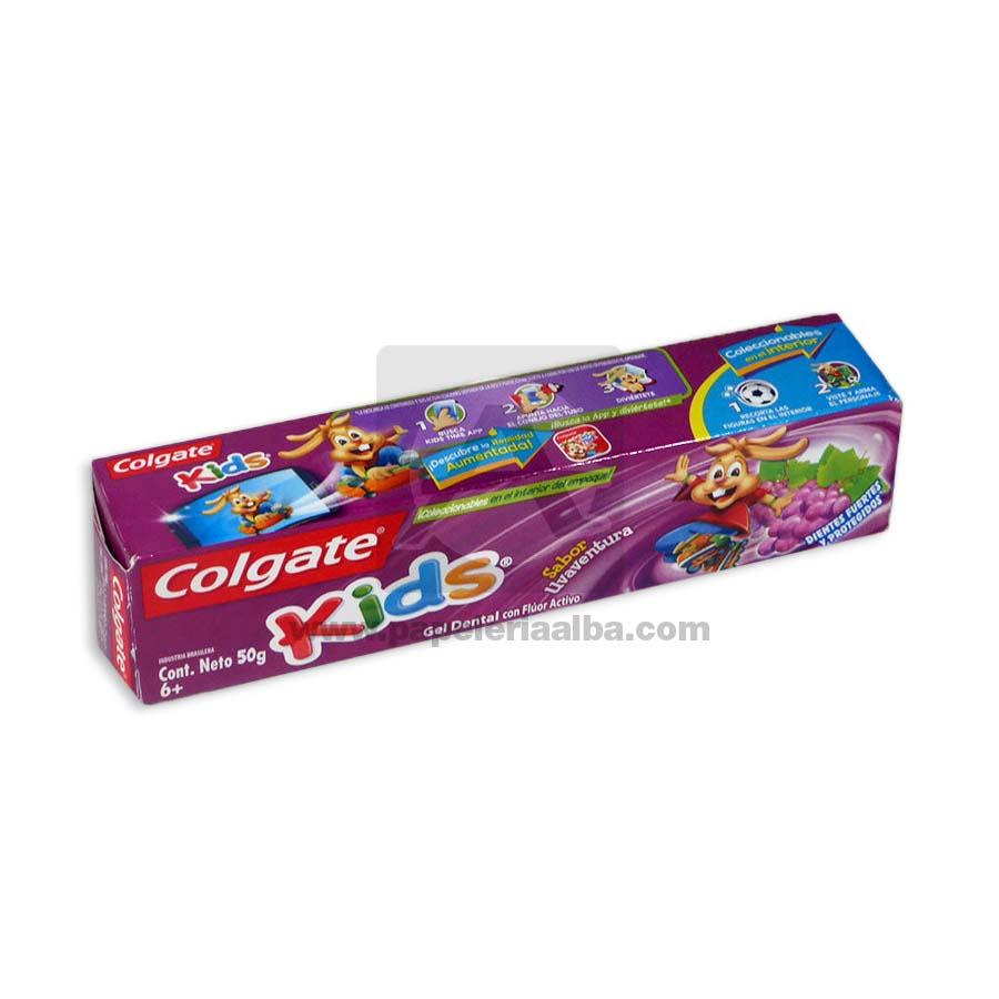 crema dental  gel para niños Colgate 50 Gramos
