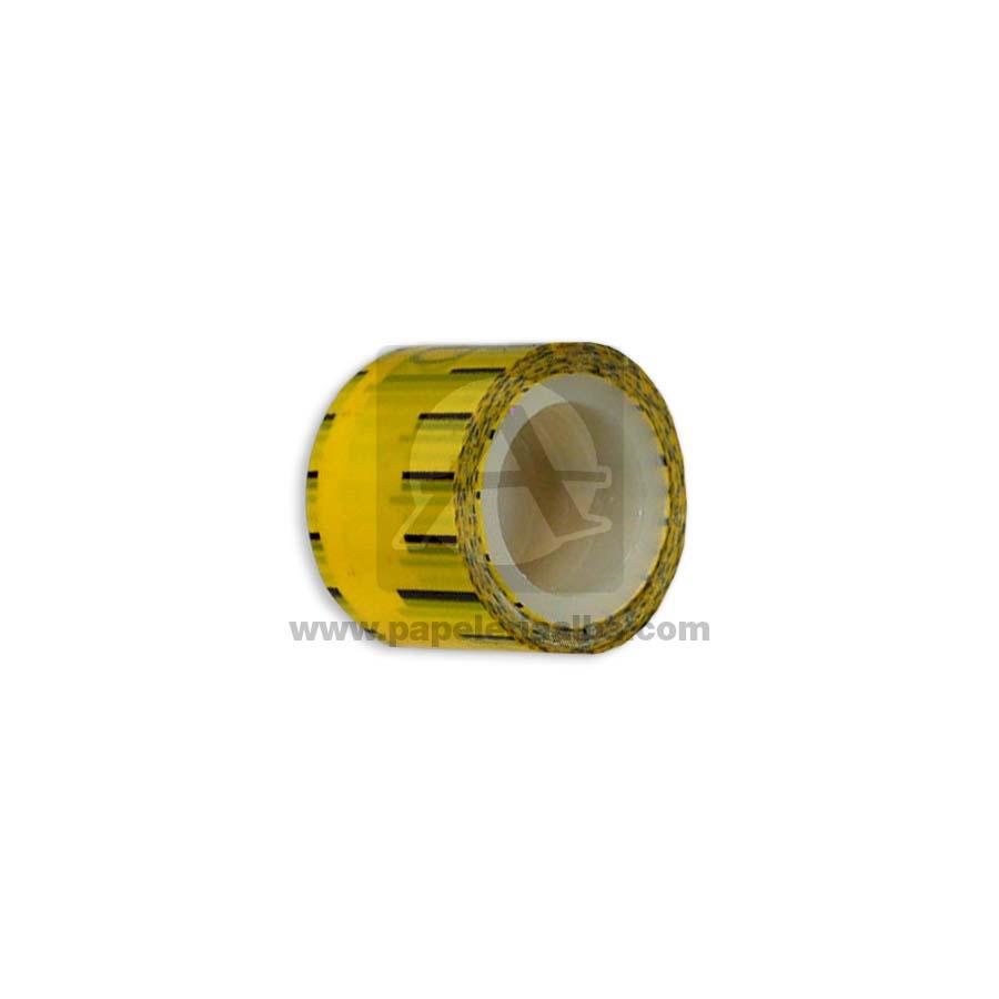 cinta decorativa  adhesiva 2.8 metros  amarillo