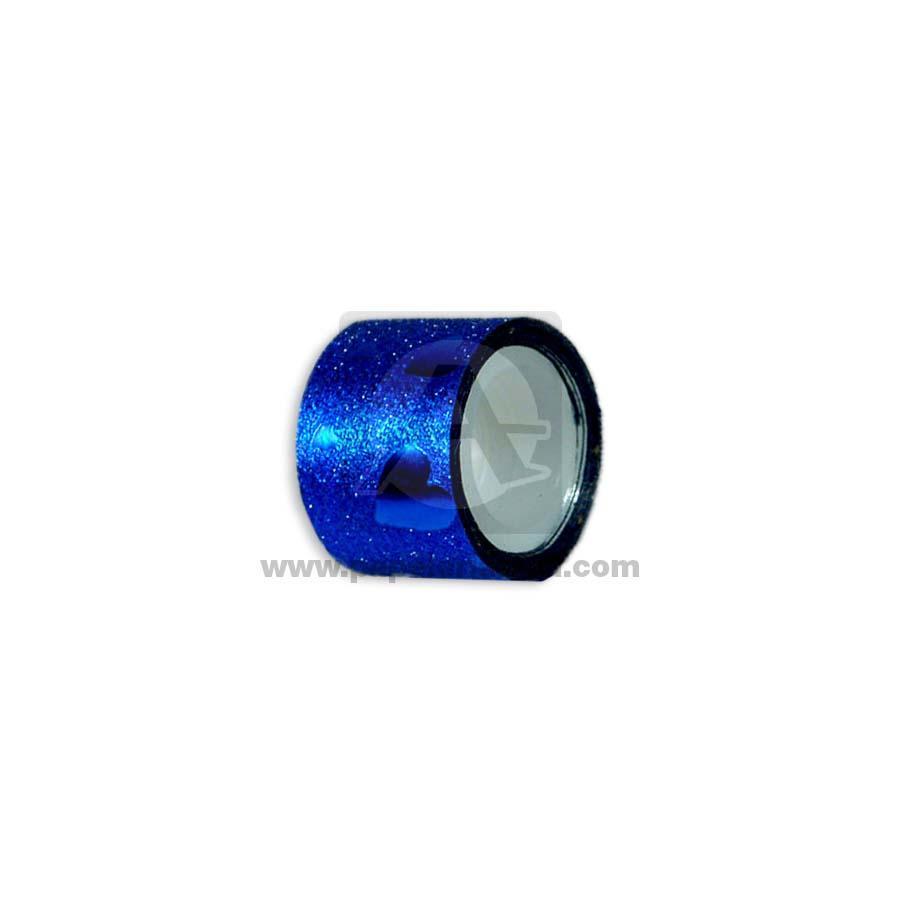 cinta decorativa  adhesiva 2.8 metros  Azul Escarchado