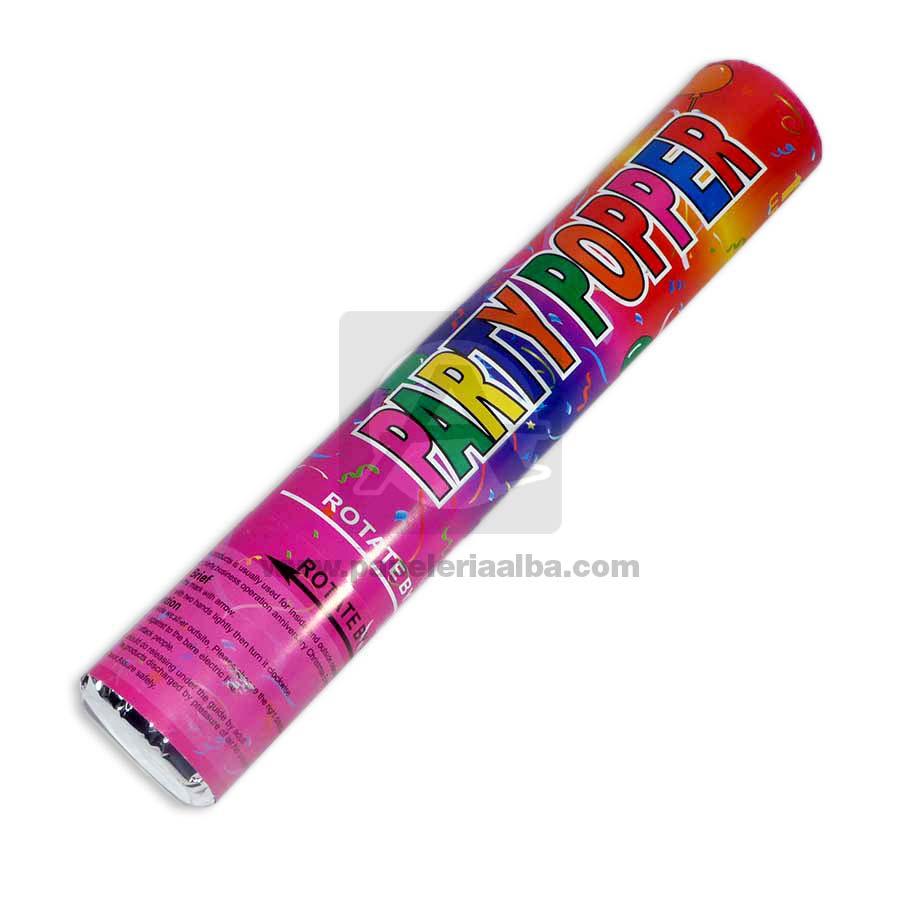 Lanza Confeti  económico Party Popper  30 cm
