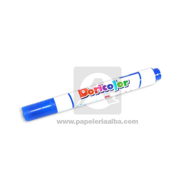 marcador Borrable   económico Doricolor Azul 1 unidad